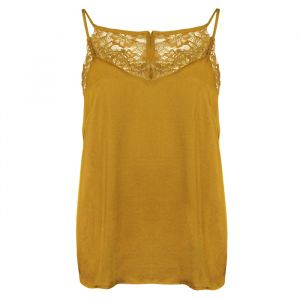 Lace Cami Top - Ocher