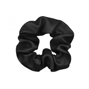 Scrunchie Leerlook Zwart, Scrunchies My Jewellery