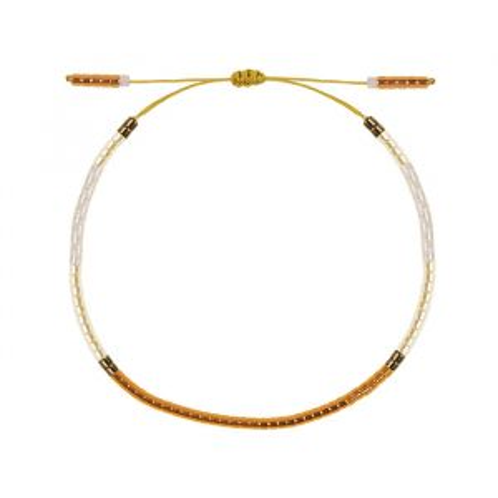 Gouden kralen armband, Fijne armband My Jewellery