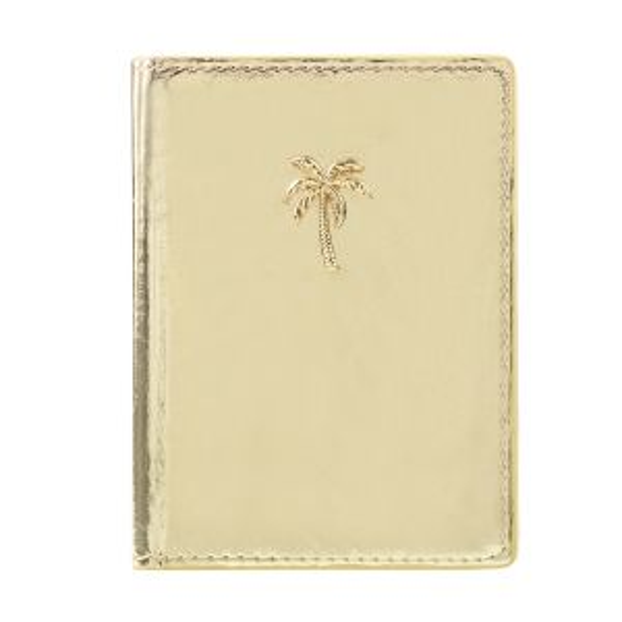 goud paspoorthoesje palmboom My Jewellery