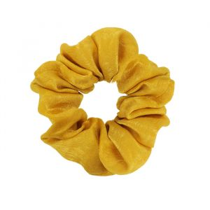 Gele scrunchie glimmend, glimmende scrunchie My Jewellery