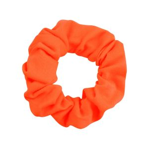Neon oranje scrunchie, haarelastiek My Jewellery