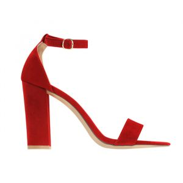 Rode sandalen met hak, rode hakken My Jewellery