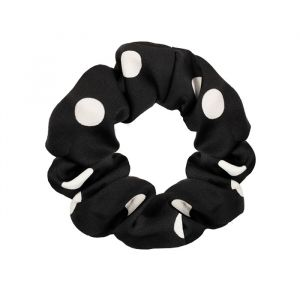 Zwarte scrunchie gestipt My Jewellery