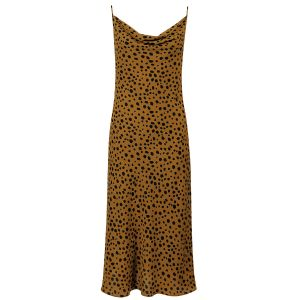 Bruine slipdress cheetah, slipdress My Jewellery
