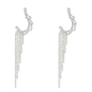Oorhangers strass steentjes, statement oorbellen My Jewellery