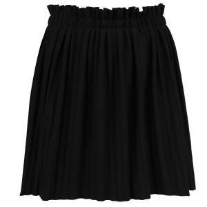 Zwarte geplooide rok, plisse rok My Jewellery