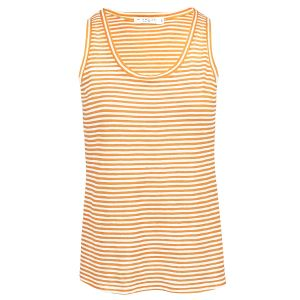 Oranje gestreepte tank top, gestreepte top My Jewellery