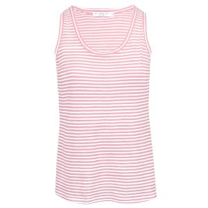 Roze gestreepte tank top, gestreepte top My Jewellery