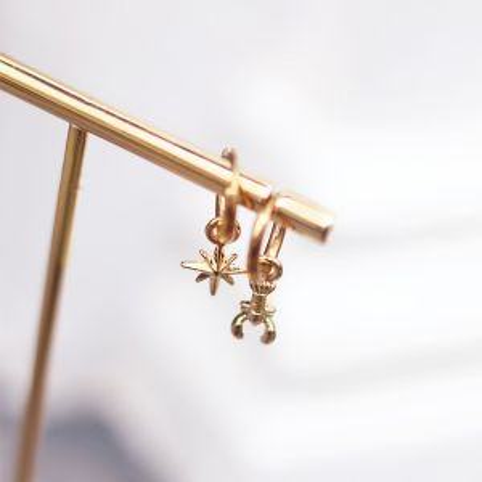 One Piece Earring - Lobster