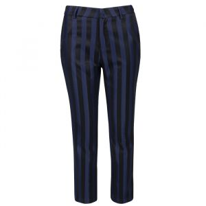 Gestreepte Pantalon Donkerblauw Zwart My Jewellery