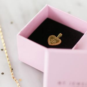 Ring Giftbox - Light Pink/Black