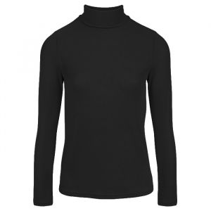 Black Turtleneck Top-XS