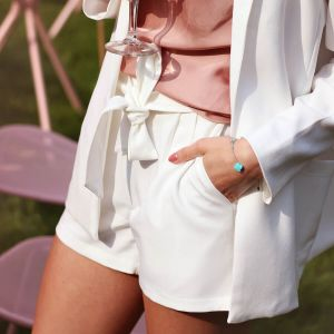 Witte short casual