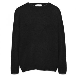 Black sweater with lurex finish My Jewellery
