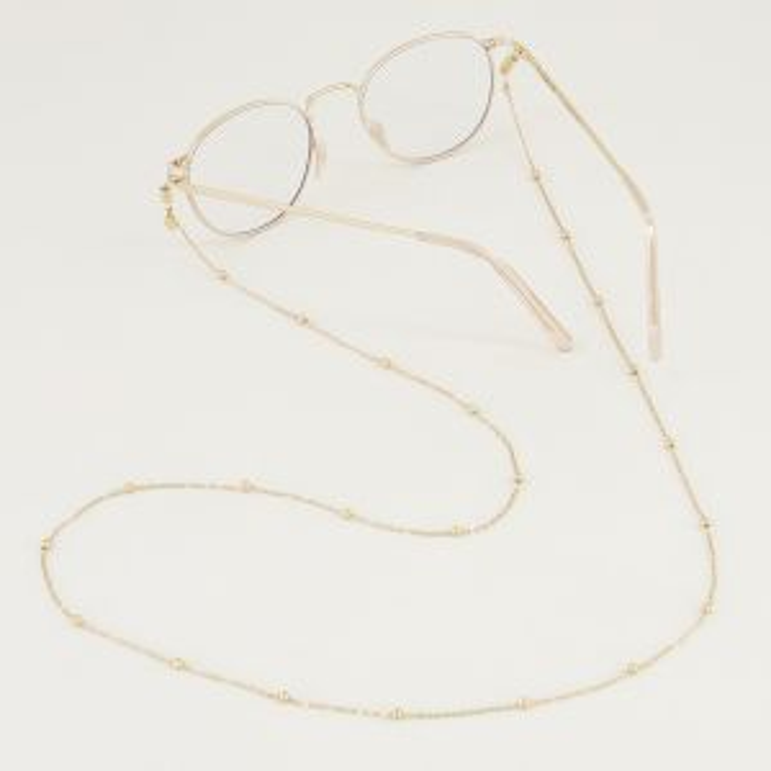 Zonnebrilkoordje bolletjes, zonnebril koord