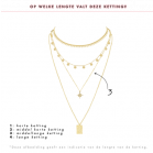 minimalistische ketting Love is Coming My Jewellery