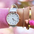 Horloge holographic rose