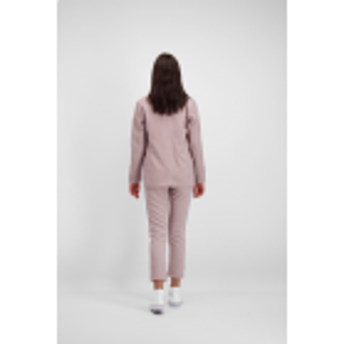 Roze pantalon casual