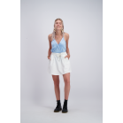 Witte rok casual