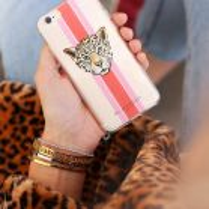 My Jewellery Telefoonhoesje luipaard soepel iPhone