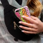 Colored Panther iPhone Case - Transparant
