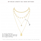 Maria Necklace - Gold/Silver