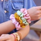 Lila scrunchie glimmend, lila scrunchie My Jewellery