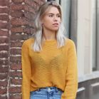 Yellow Knitted Sweater
