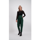 Color Pantalon Belt - Bottle Green