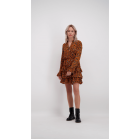 Leopard Dress - Ocher