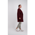Burgundy Winter Coat