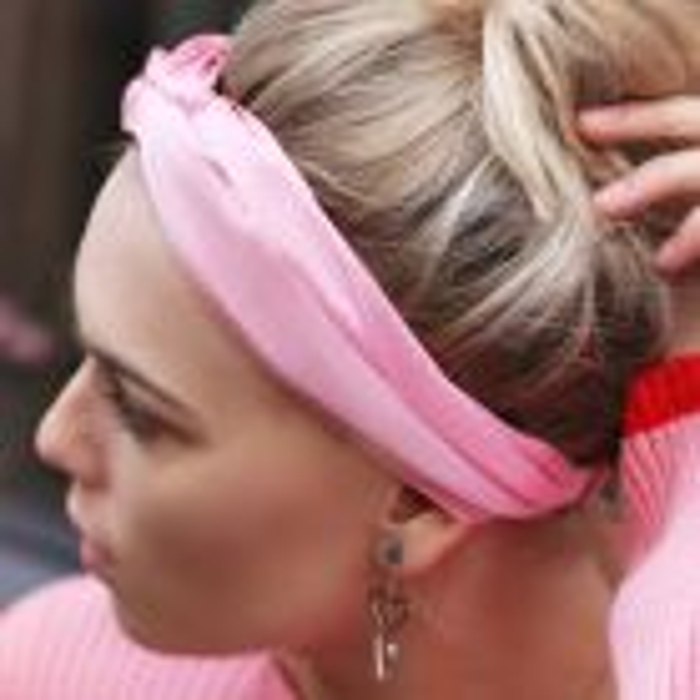 My Jewellery Haarband satijn roze