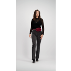 Glitter Flared Pants - Silver