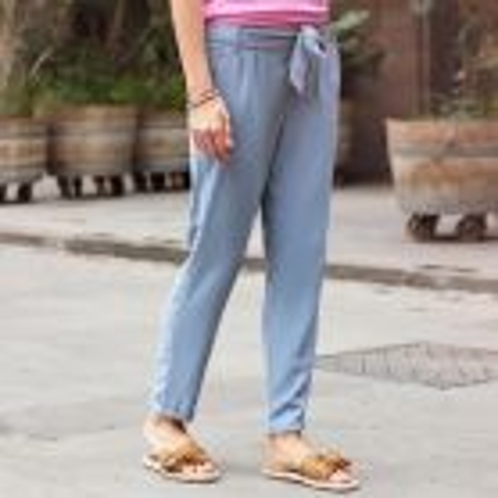 Ultimate summer pants - Light Blue