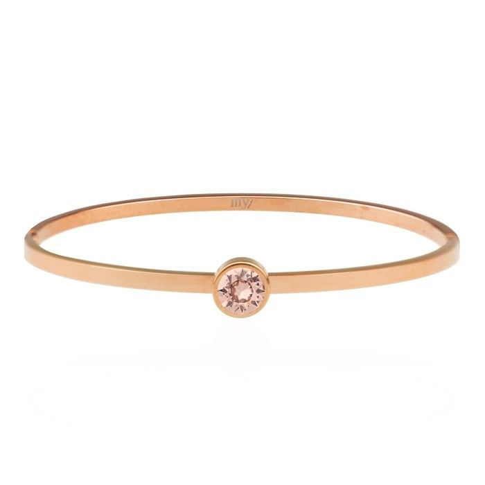 My Jewellery Armband steentje oud roze