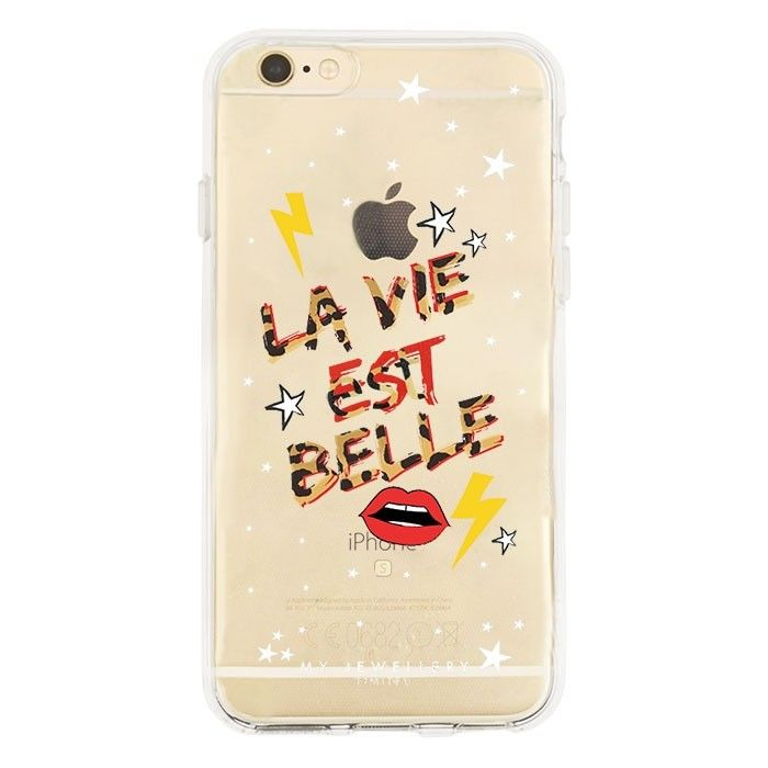 My Jewellery iPhone hoesje quote soepel leopard