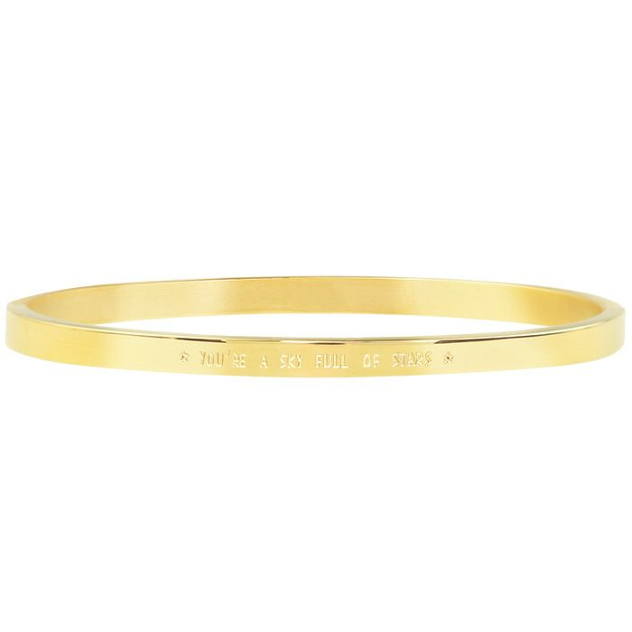 Bangle quote goud My Jewellery