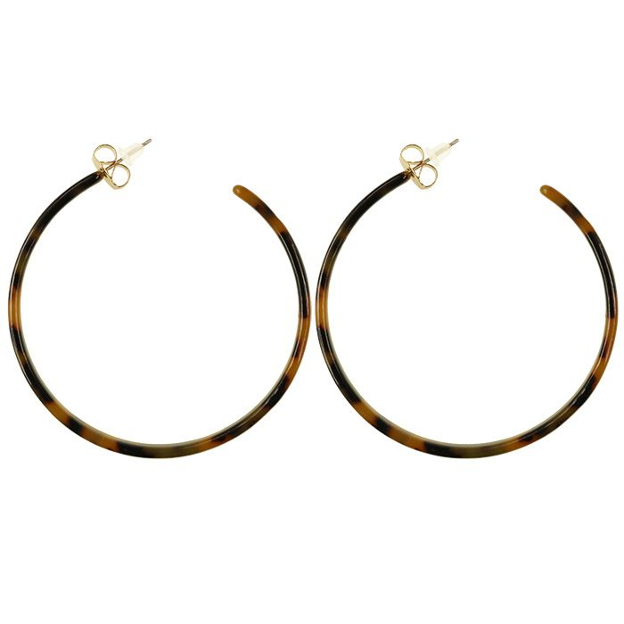 Round Hoops - Brown