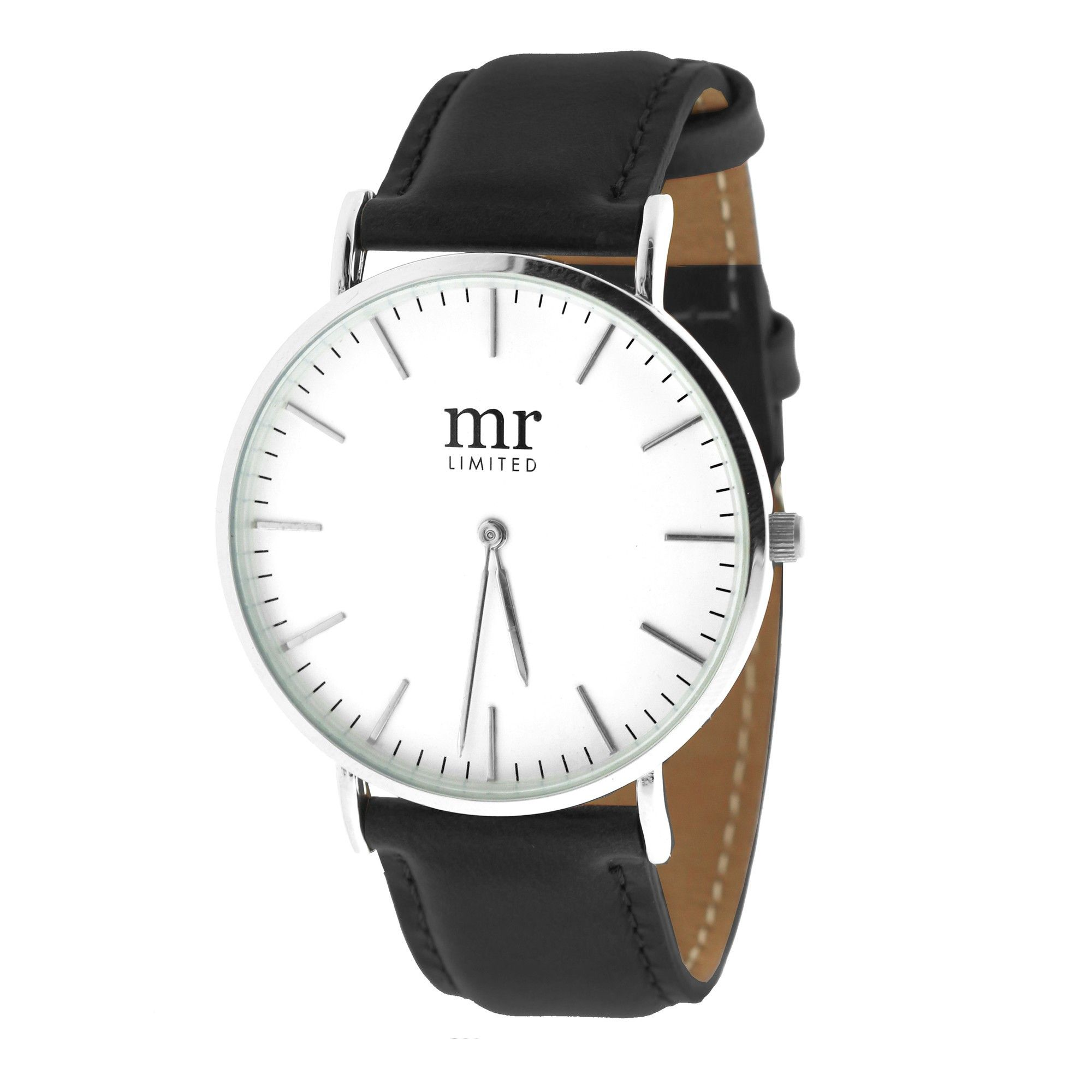 Mr. Jewellery Minimal Watch - Black