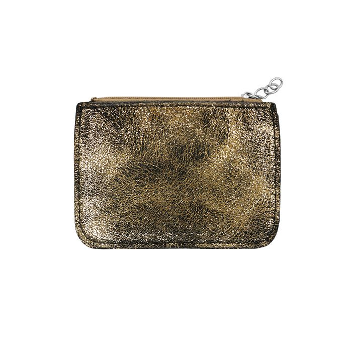 Gold Small Glitter Wallet