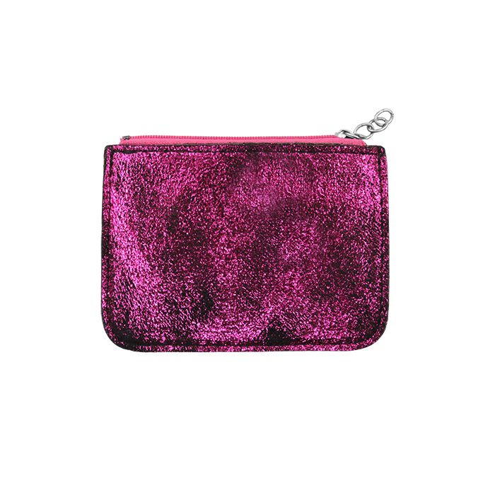 Pink Small Glitter Wallet