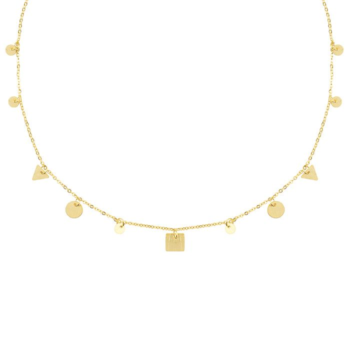 Short Figure Necklace