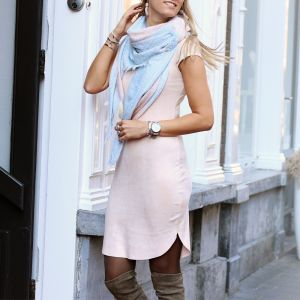 Suedine Dress 2.0 - Light Pink