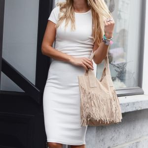 Pencil Dress - Off White