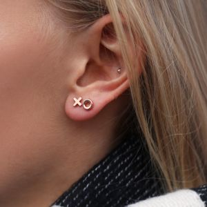 XO studs - Gold/Silver/Rose