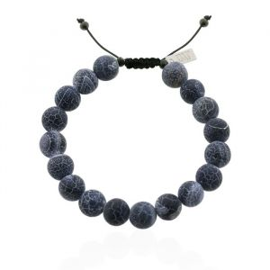 Mr. Jewellery Big Beads Bracelet - Dark Grey