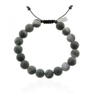 Mr. Jewellery Big Beads Bracelet - Black