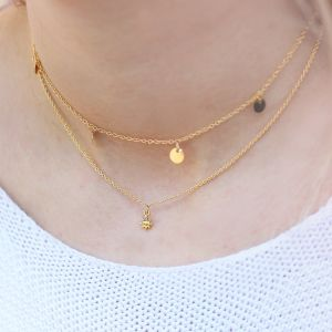 Sun Necklace - Gold/Silver/Rose