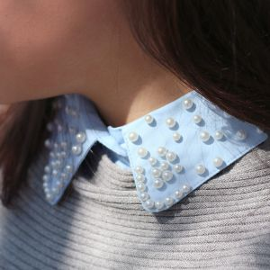 Pearl Collar - Blue